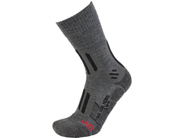 UYN Trekking Cool Merino Socks Herren medium grey melange/black
